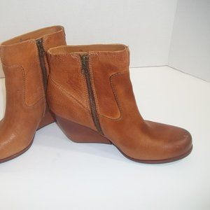 Kork Ease Natalya Brown Leather Boots EUC